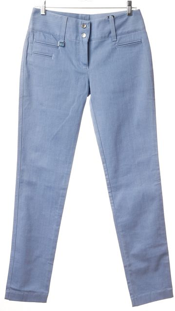 DOLCE & GABBANA Blue Denim Casual Pants