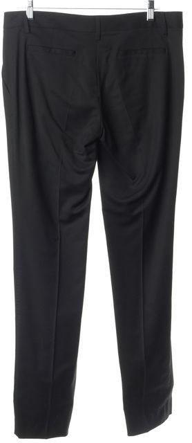 DOLCE & GABBANA Black Trouser Dress Pants