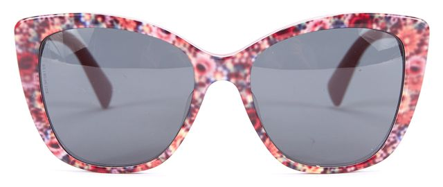 DOLCE & GABBANA Multi-color Floral Print Square Sunglasses