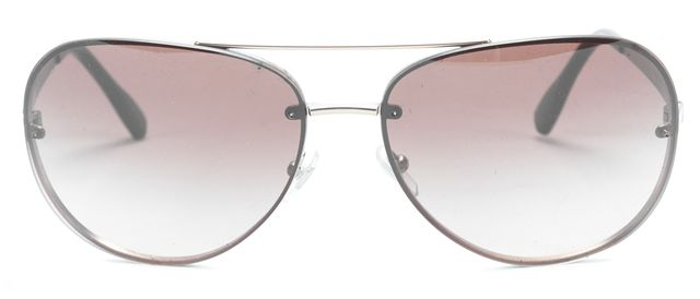 DOLCE & GABBANA Brown and Matte Gold Aviator Sunglasses