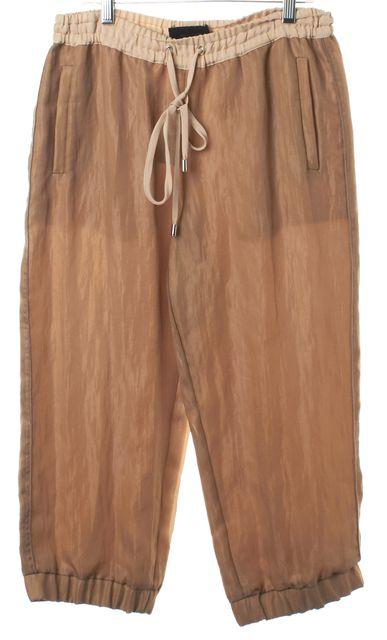D&G Brown Capris Cropped Jogger Pants