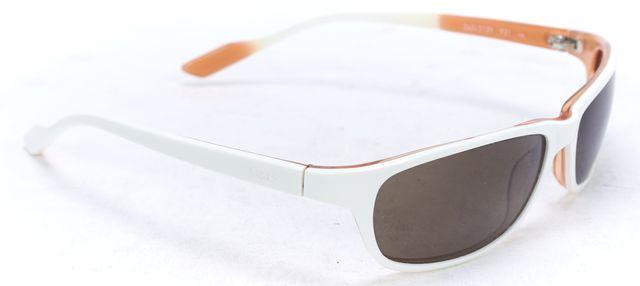 D&G White Acetate Small Rectangular Sunglasses w Case