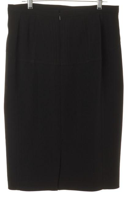 D&G Black Knee-Length Straight Skirt