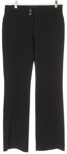 D&G Black Flare Leg Boot Cut Stretch Dress Pants