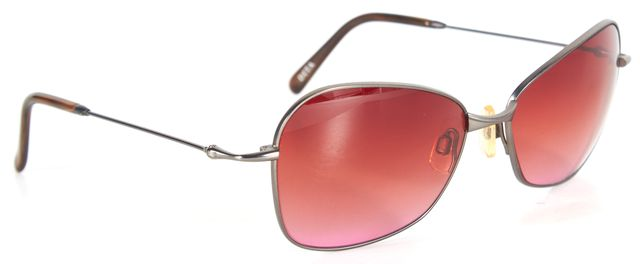 DITA Steel Gray Gradient Red Oval Sunglasses