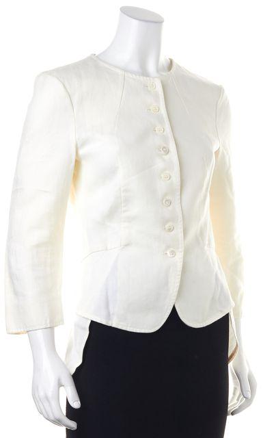 DEREK LAM Ivory Basic Jacket