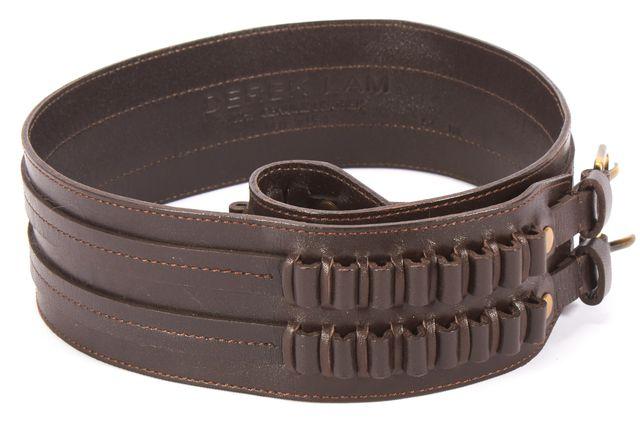 DEREK LAM Brown Leather Belt