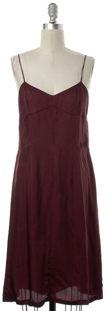 DRIES VAN NOTEN Red Slip Dress