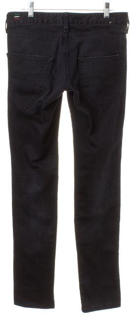 DIESEL Black Cotton Denim Skinny Jeans