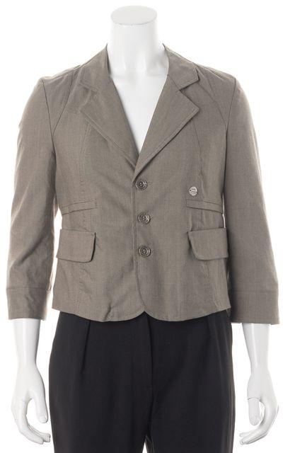 DIESEL Brown Button Up Jacket