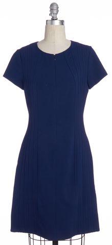 DIANE VON FURSTENBERG Blue Kaelyn Bodycon Dress