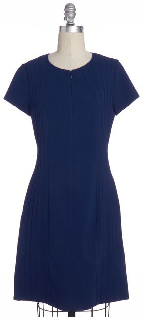 DIANE VON FURSTENBERG Blue Kaelyn Bodycon Dress