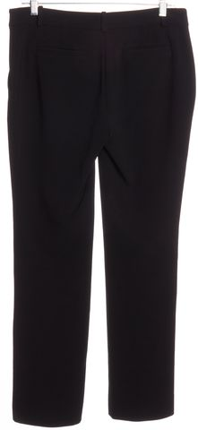 DIANE VON FURSTENBERG Black Straight Leg Dress Pants Size 6