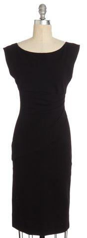 DIANE VON FURSTENBERG Black Wiggle Dress Size 4