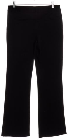 DIANE VON FURSTENBERG Black Wide Leg Dress Pants Size 4