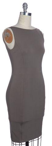 DIANE VON FURSTENBERG NWOT Gray Audrina Sheath Dress Size 6