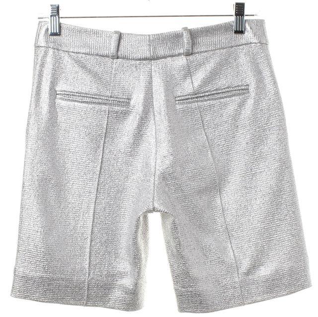 DIANE VON FURSTENBERG Silver Boymuda Bermuda Walking Shorts