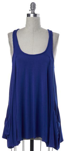 DIANE VON FURSTENBERG Blue Coverup Dress