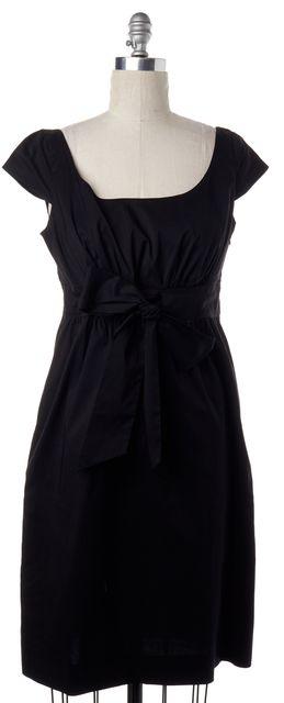 DIANE VON FURSTENBERG Black Empire Waist Dress