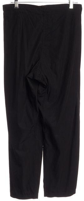 DIANE VON FURSTENBERG Black Casual Drawstring Tassel Pants