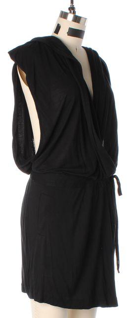 DIANE VON FURSTENBERG Black Denisha Jersey Jumpsuit/ Romper
