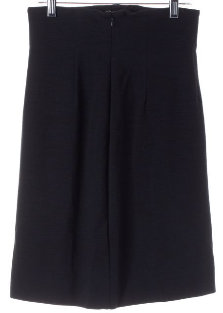 DIANE VON FURSTENBERG Black Above Knee Chi Chi Straight Skirt