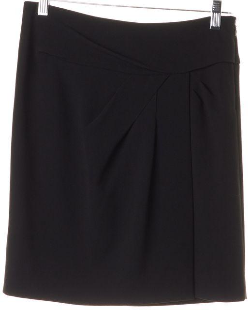 DIANE VON FURSTENBERG Black Lata Straight Skirt