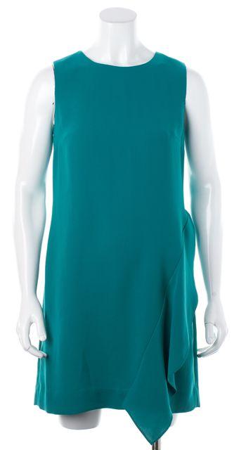 DIANE VON FURSTENBERG Sea Green Wylda Sheath Dress