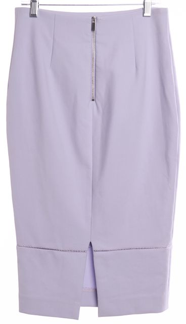 ELIZABETH AND JAMES Light Purple Pencil Skirt