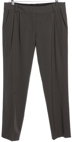 ELIZABETH AND JAMES Gray Wool Dress Pants