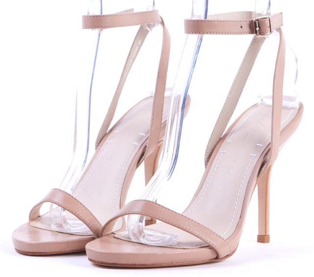 ELIZABETH AND JAMES Nude Ankle Strap Sandals