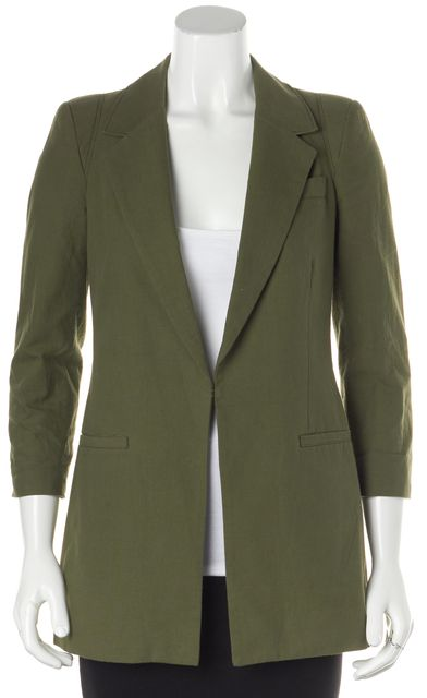 ELIZABETH AND JAMES Green Blazer