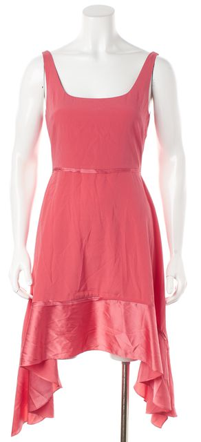 ELIZABETH AND JAMES Coral Pink Silk Sundress