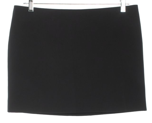 ELIZABETH AND JAMES Black Mini Pencil Skirt