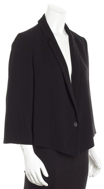 ELIZABETH AND JAMES Black Basic Jacket