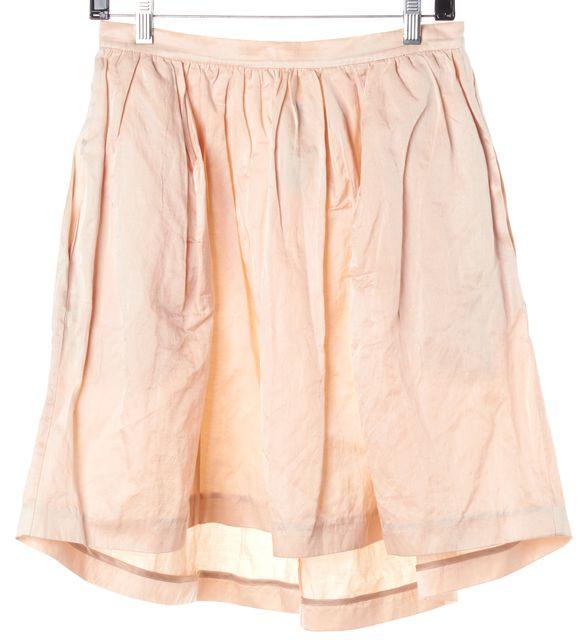 ELIZABETH AND JAMES Peach Bubble Skirt