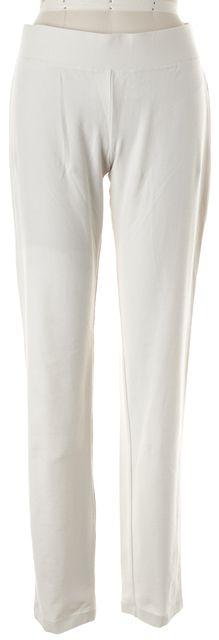 EILEEN FISHER Beige Elastic Waist Trouser Dress Pants