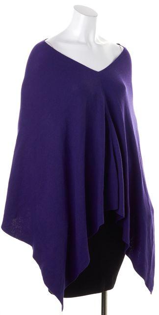 EILEEN FISHER Purple Knit Top