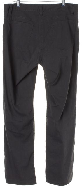 EILEEN FISHER Gray Relaxed Fit Straight Leg Casual Pants