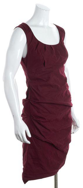 EILEEN FISHER Red Sheath Dress