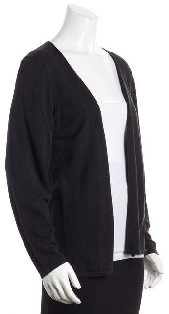 EILEEN FISHER Black Cardigan Sweater