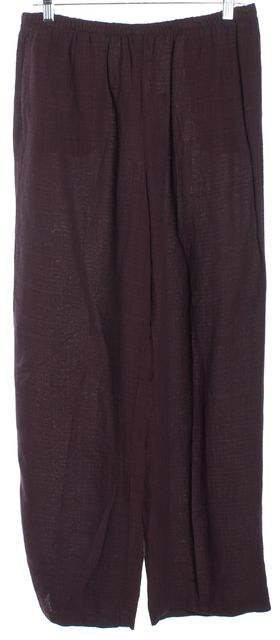 EILEEN FISHER Red Casual Pants
