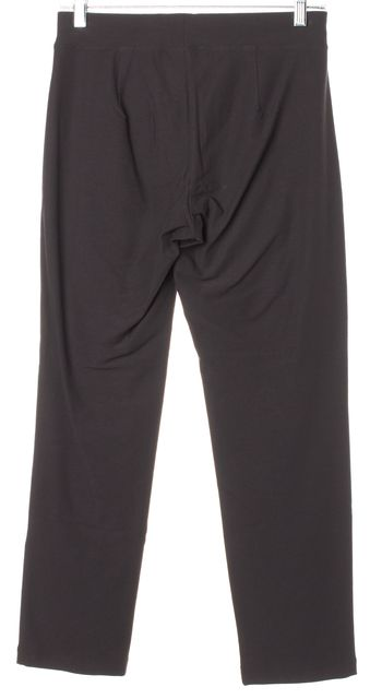 EILEEN FISHER Brown Slim Fit Stretch Casual Pants