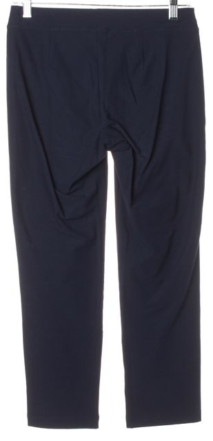 EILEEN FISHER Cobalt Blue Casual Capri Stretch Pants