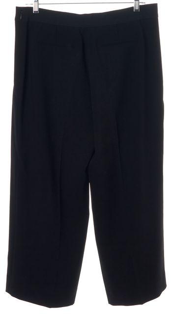ELIE TAHARI Black Casual Zipped Pockets Pants