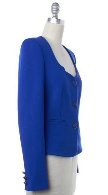 EMILIO PUCCI Royal Blue Button Up Jacket