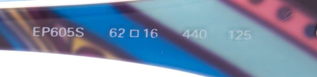EMILIO PUCCI Turquoise Blue Gradient Oval Sunglasses