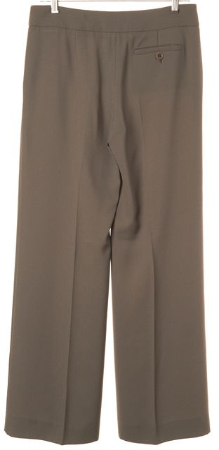 EMPORIO ARMANI Gray Linea Tailor Polyester Blend Dress Pants