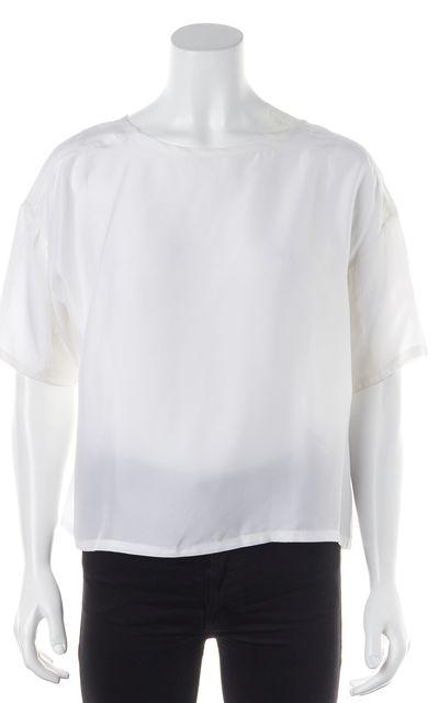 EQUIPMENT White Silk Blouse