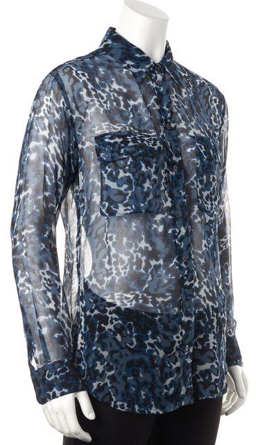 snake animal print fashion clothes equipment royal blue black gray snake animal print casual silk